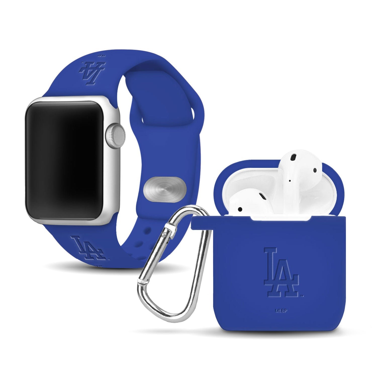 Los Angeles Dodgers Debossed Apple Combo Package - AffinityBands