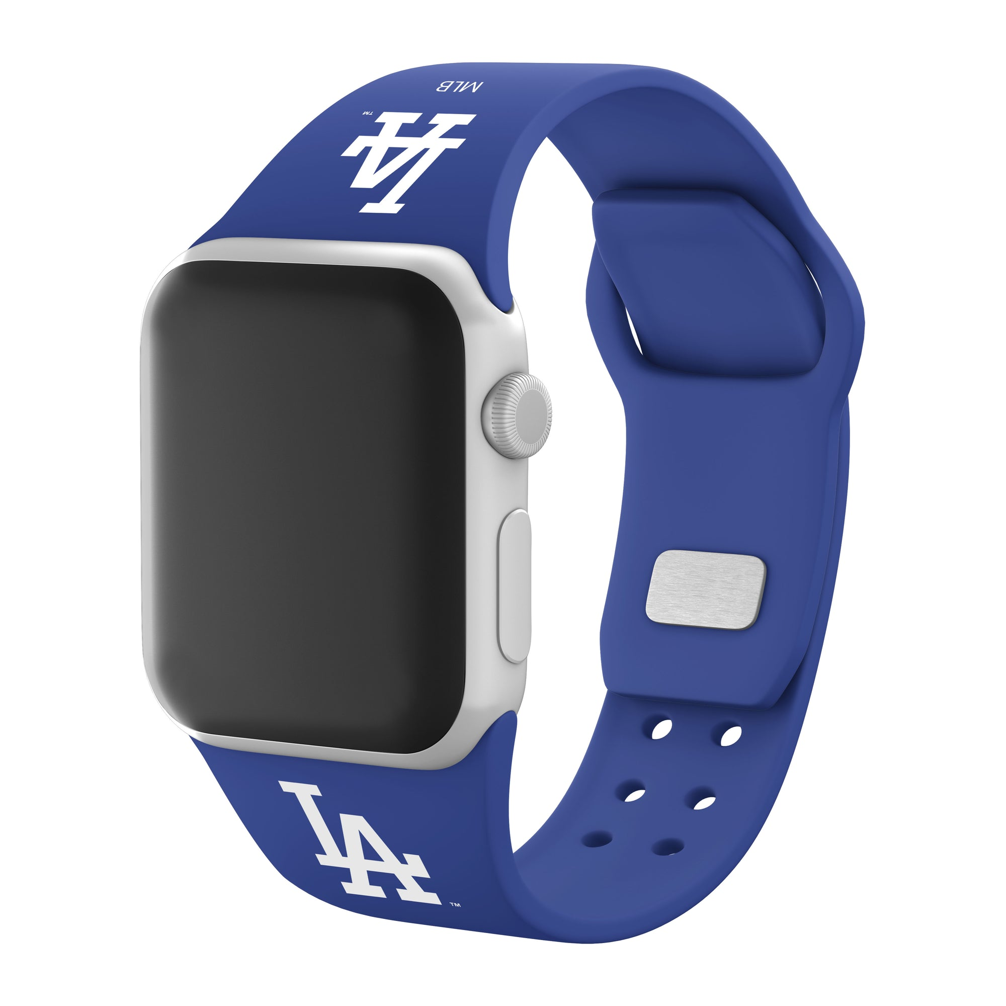 Los Angeles Dodgers Silicone Apple Watchband