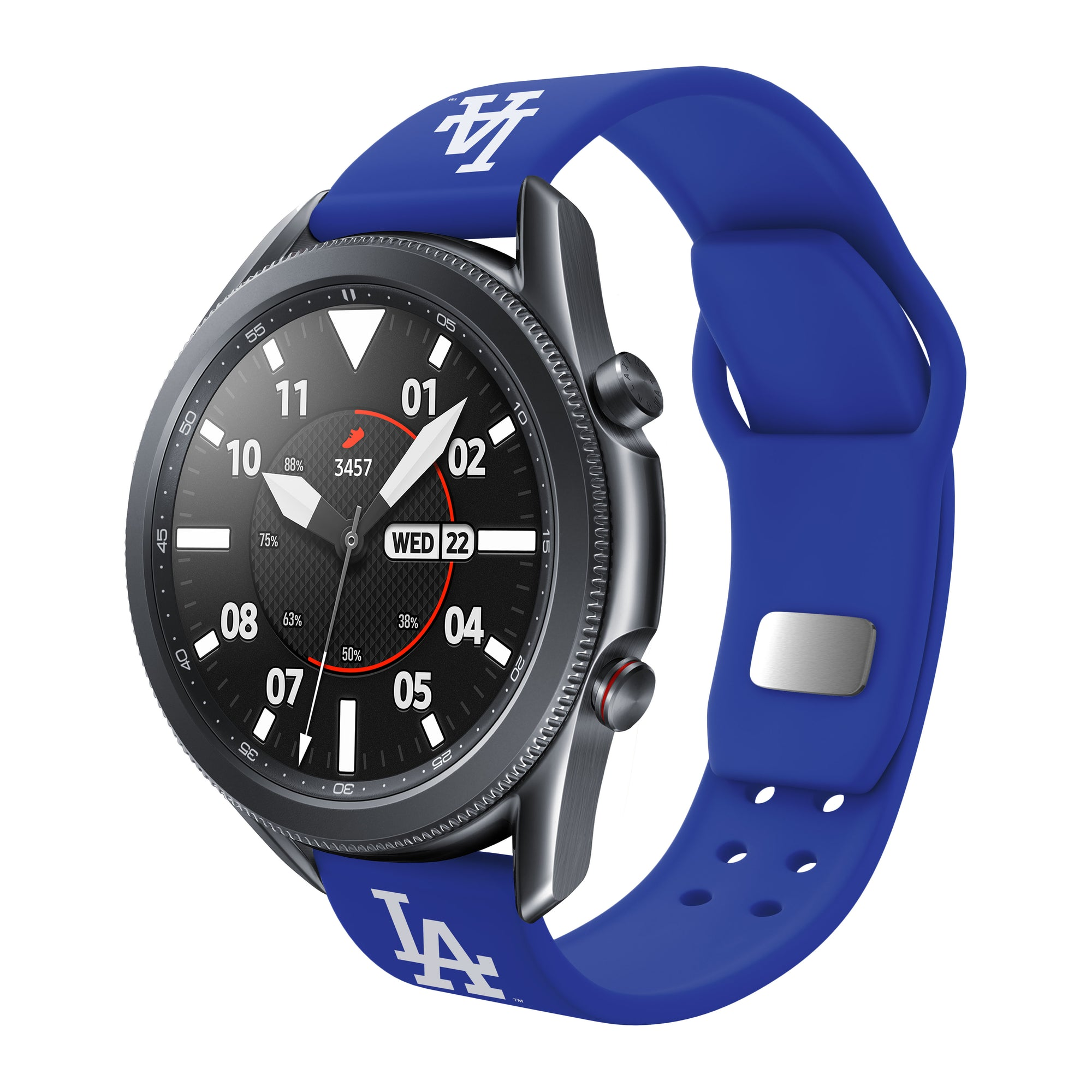 Los Angeles Dodgers Quick Change Silicone Watch Band - AffinityBands