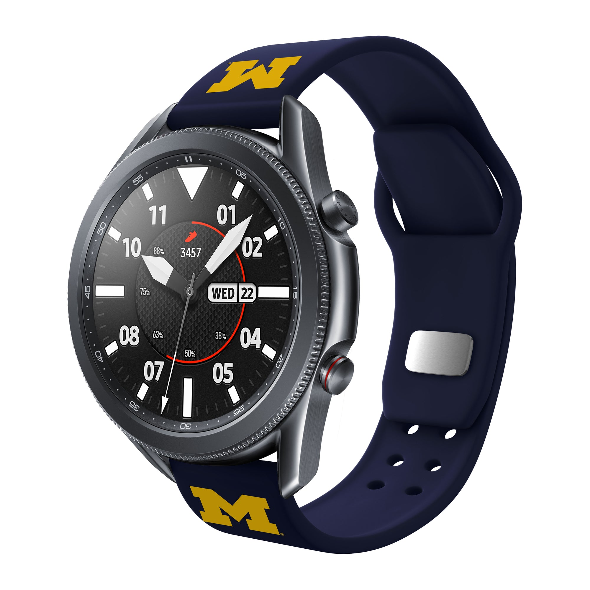 Michigan Wolverines Quick Change Silicone Watchband - AffinityBands