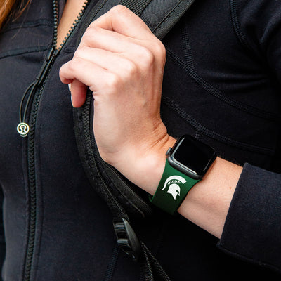 Michigan State Spartans Apple Watch Band