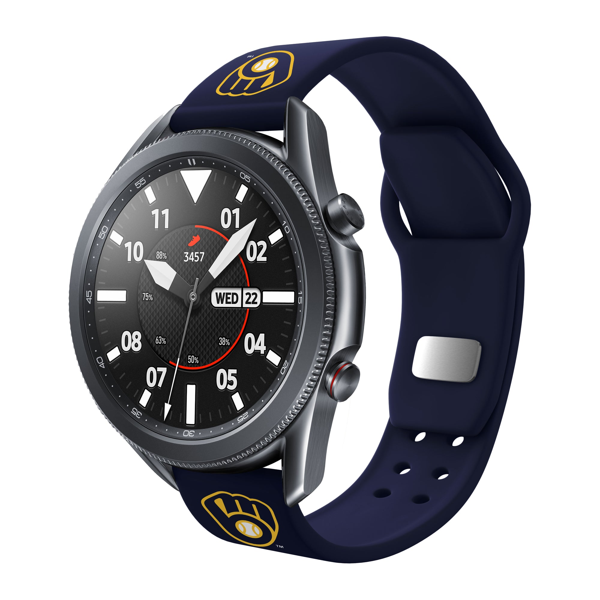 Milwaukee Brewers Quick Change Silicone Watch Band - AffinityBands