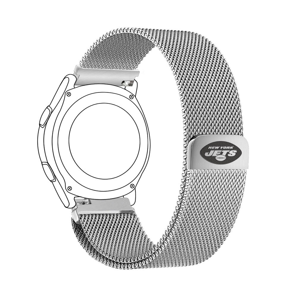 New York Jets Quick Change Stainless Steel Watch Band - AffinityBands