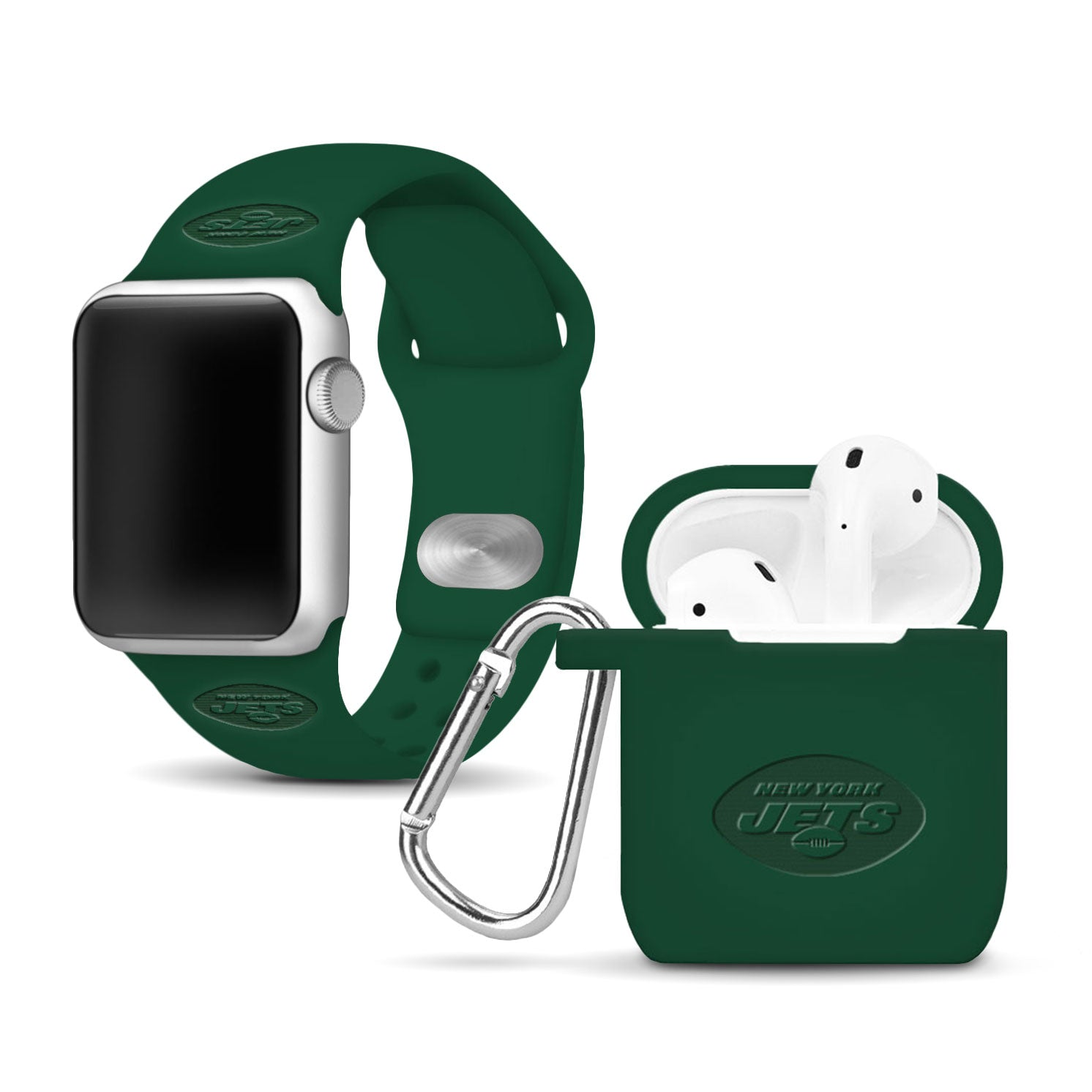 New York Jets Debossed Apple Combo Package - AffinityBands