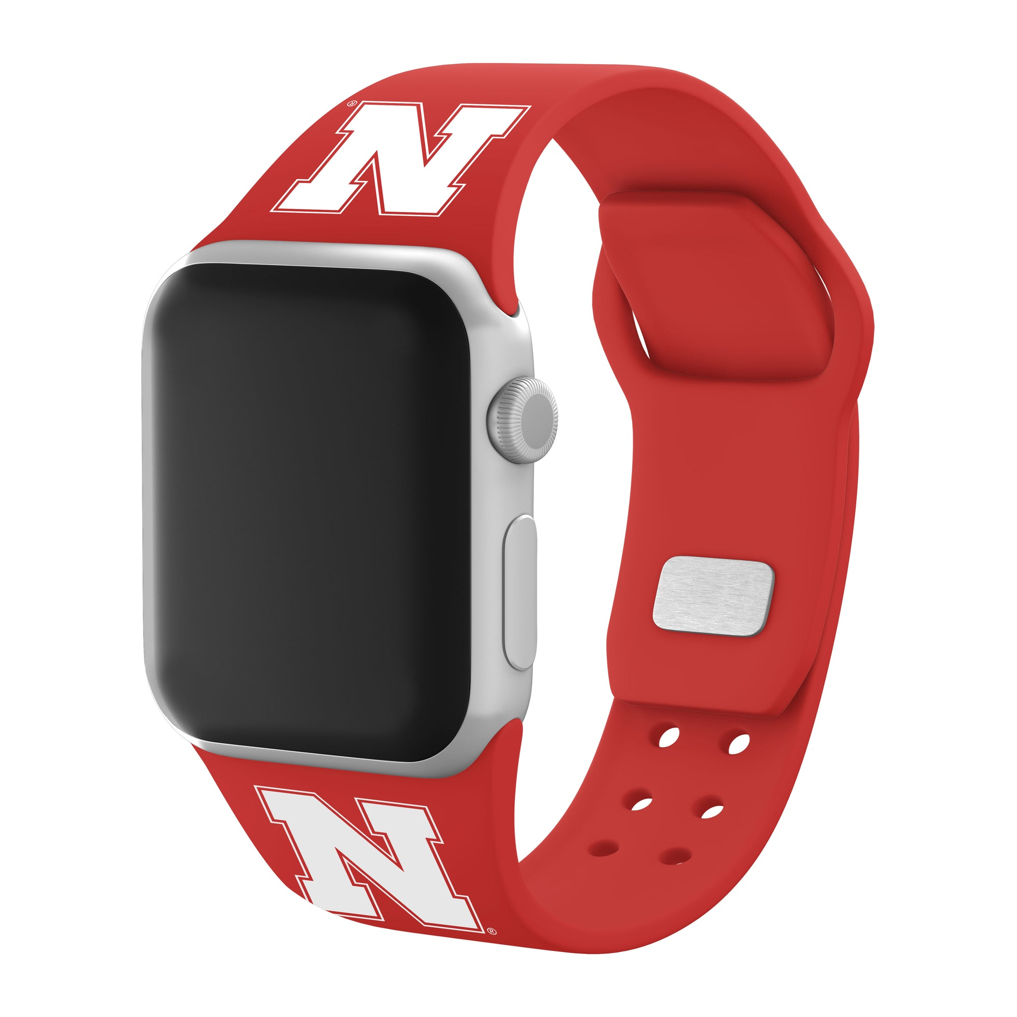 Nebraska Huskers Apple Watch Band - Red - Affinity Bands