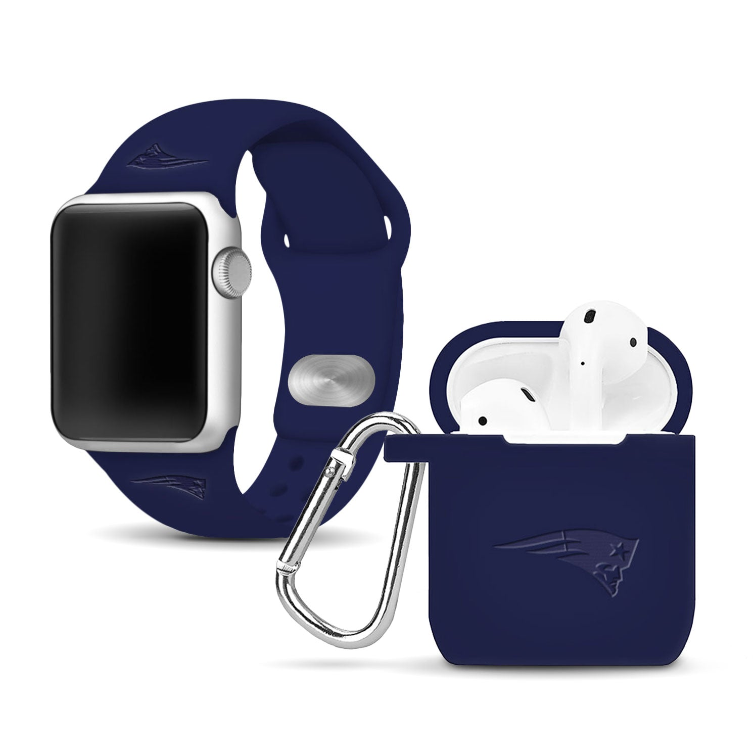 New England Patriots Debossed Apple Combo Package - AffinityBands