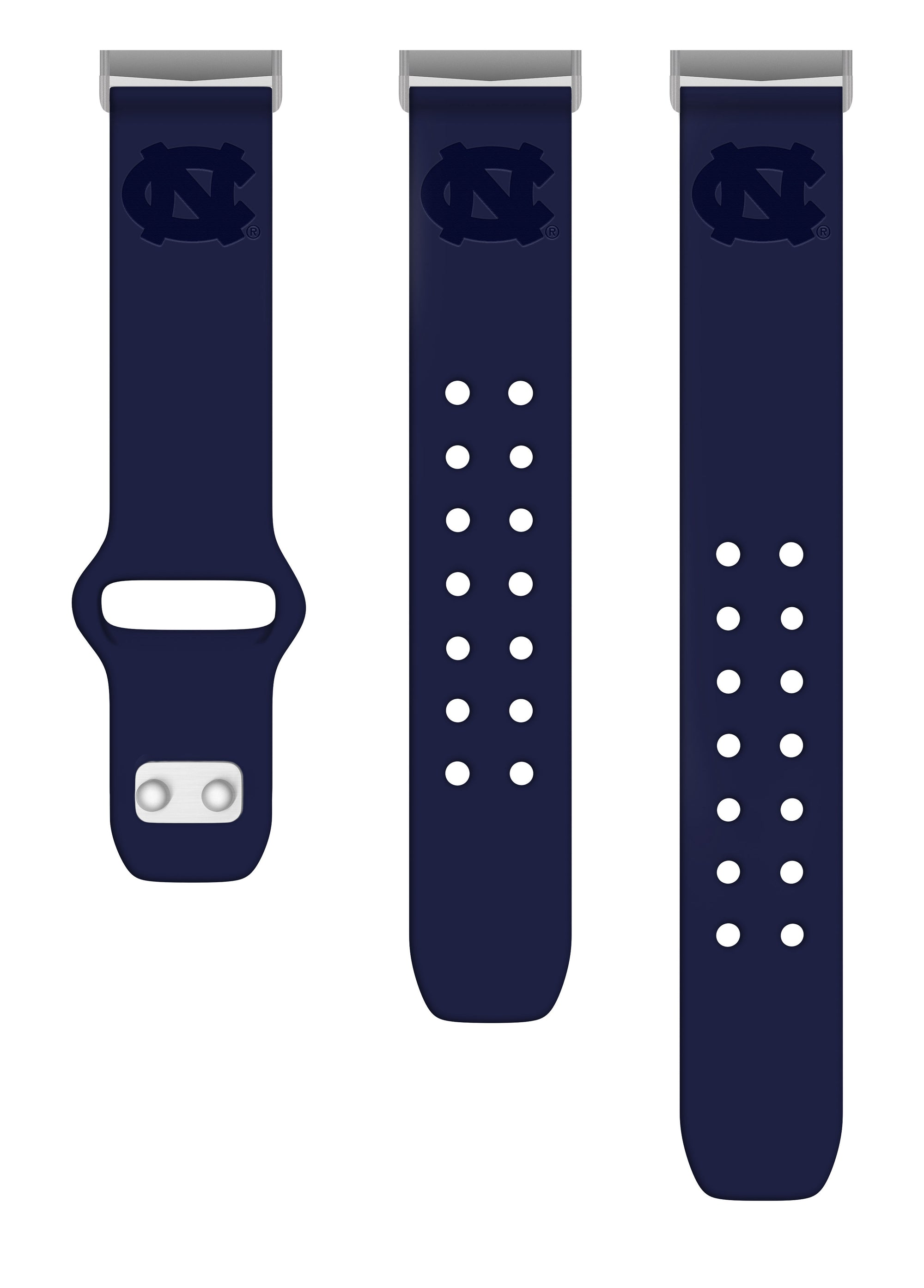 North Carolina Tar Heels Debossed Apple Watch Band