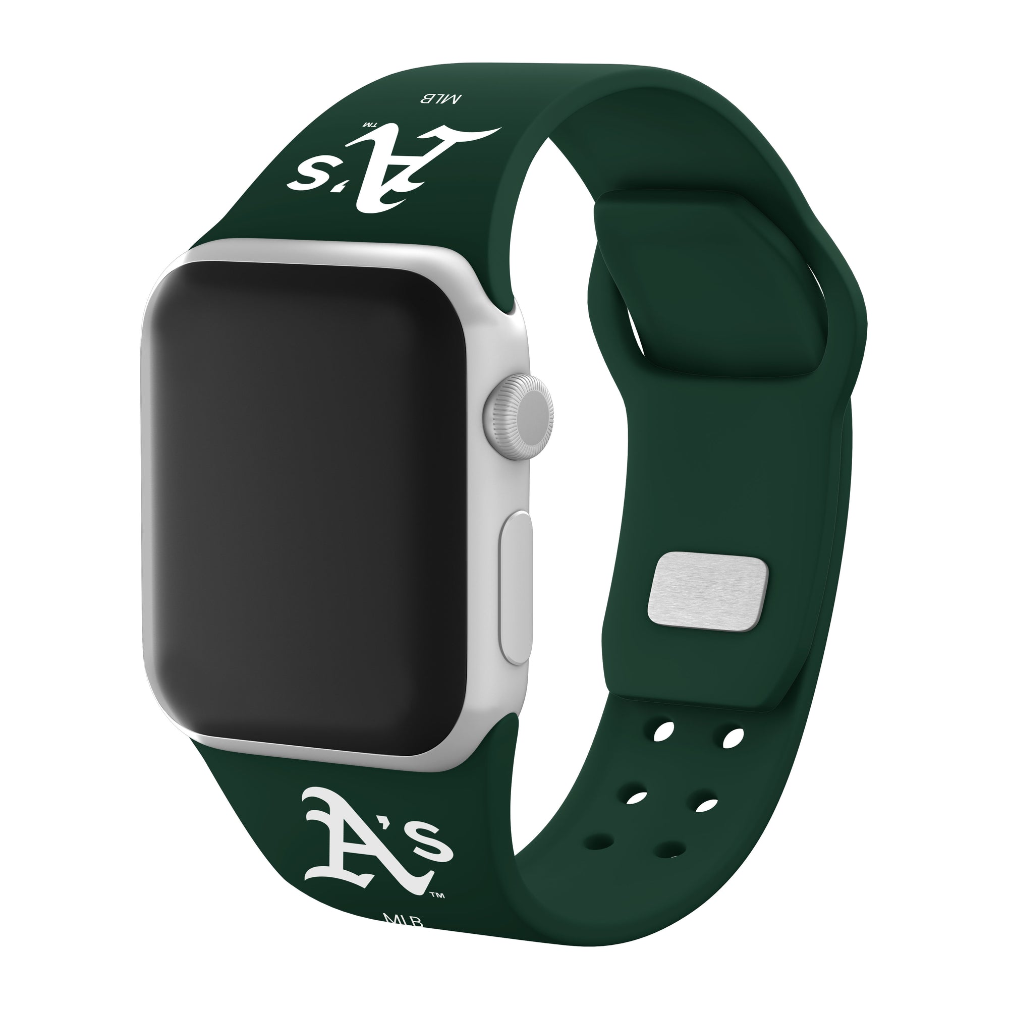 Oakland Athletics Silicone Apple Watch Band - AffinityBands