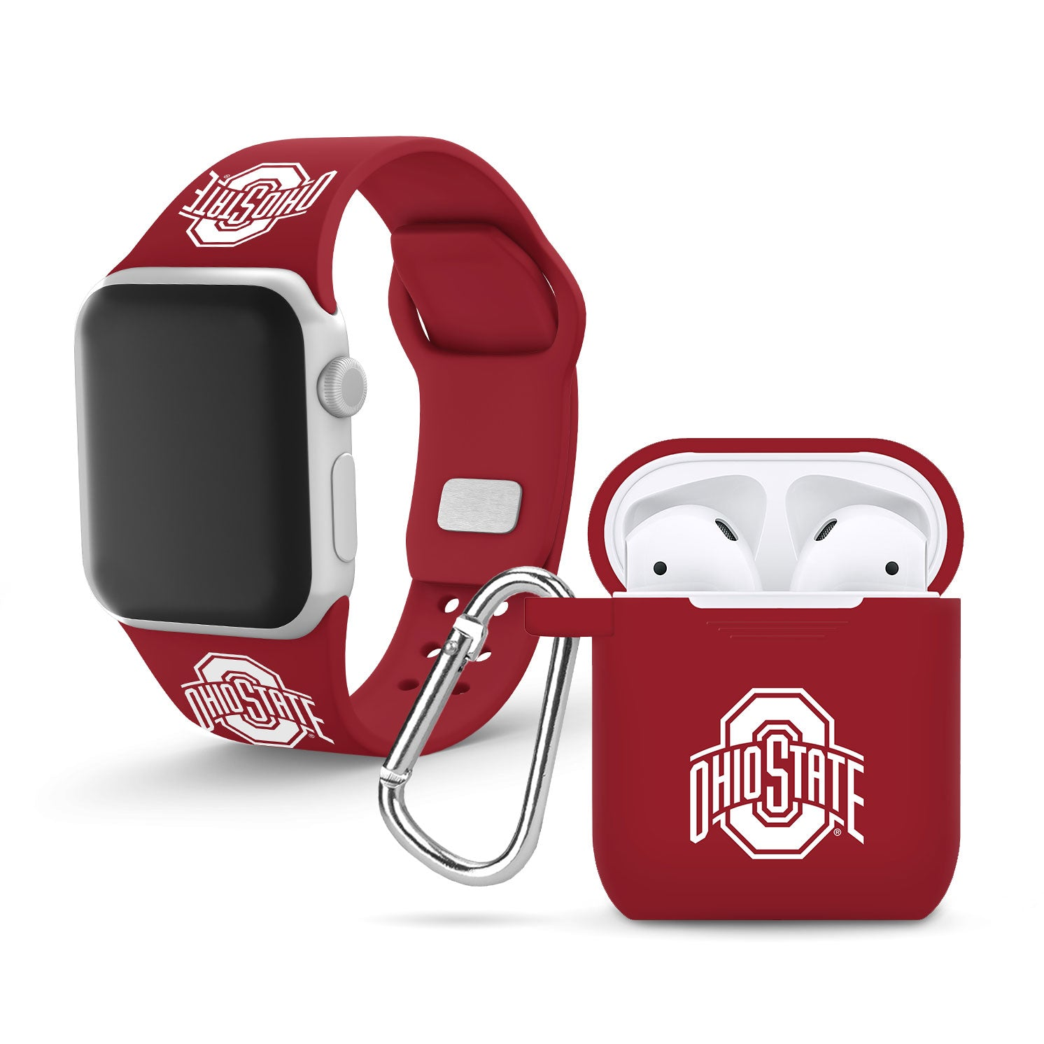 Ohio State Buckeyes AirPod Case Cover - Red