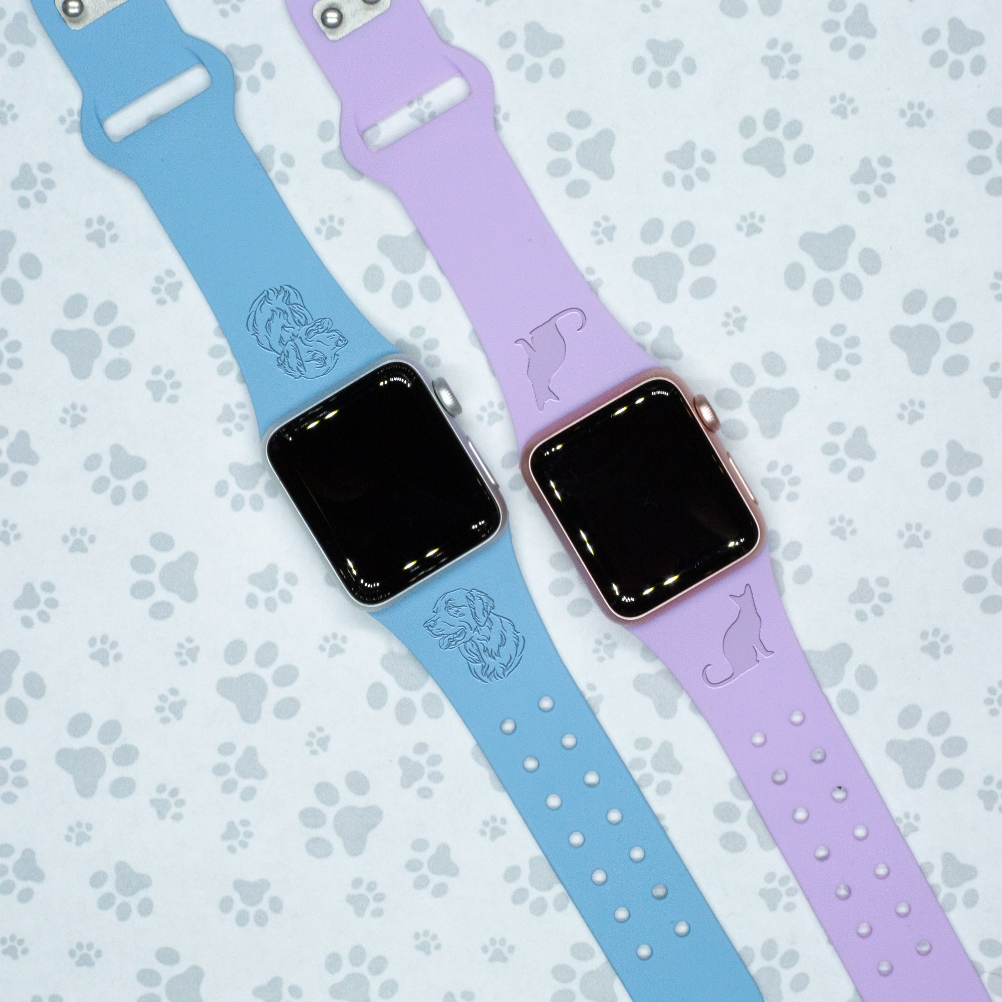 Pets & Animals - Apple Silicone Watch Band - AffinityBands