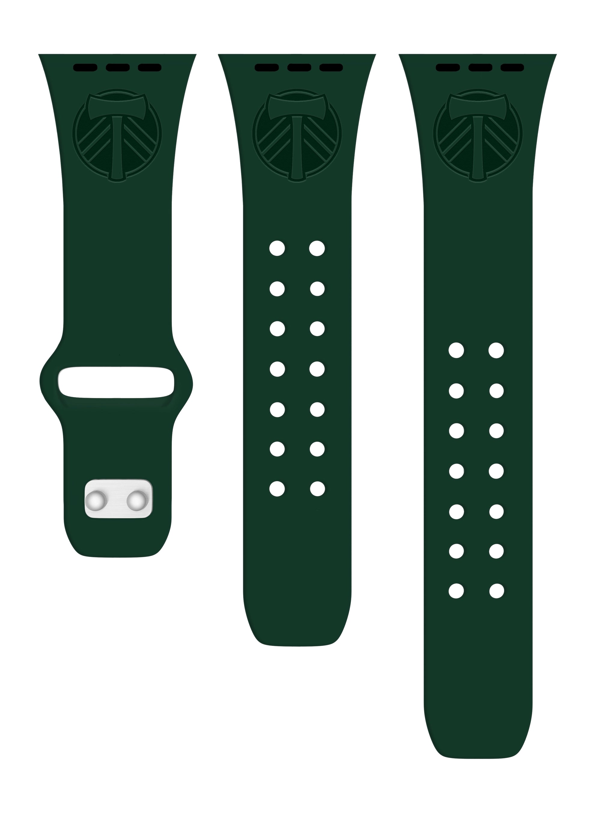 Portland Timbers Silicone Apple Watch Band - AffinityBands