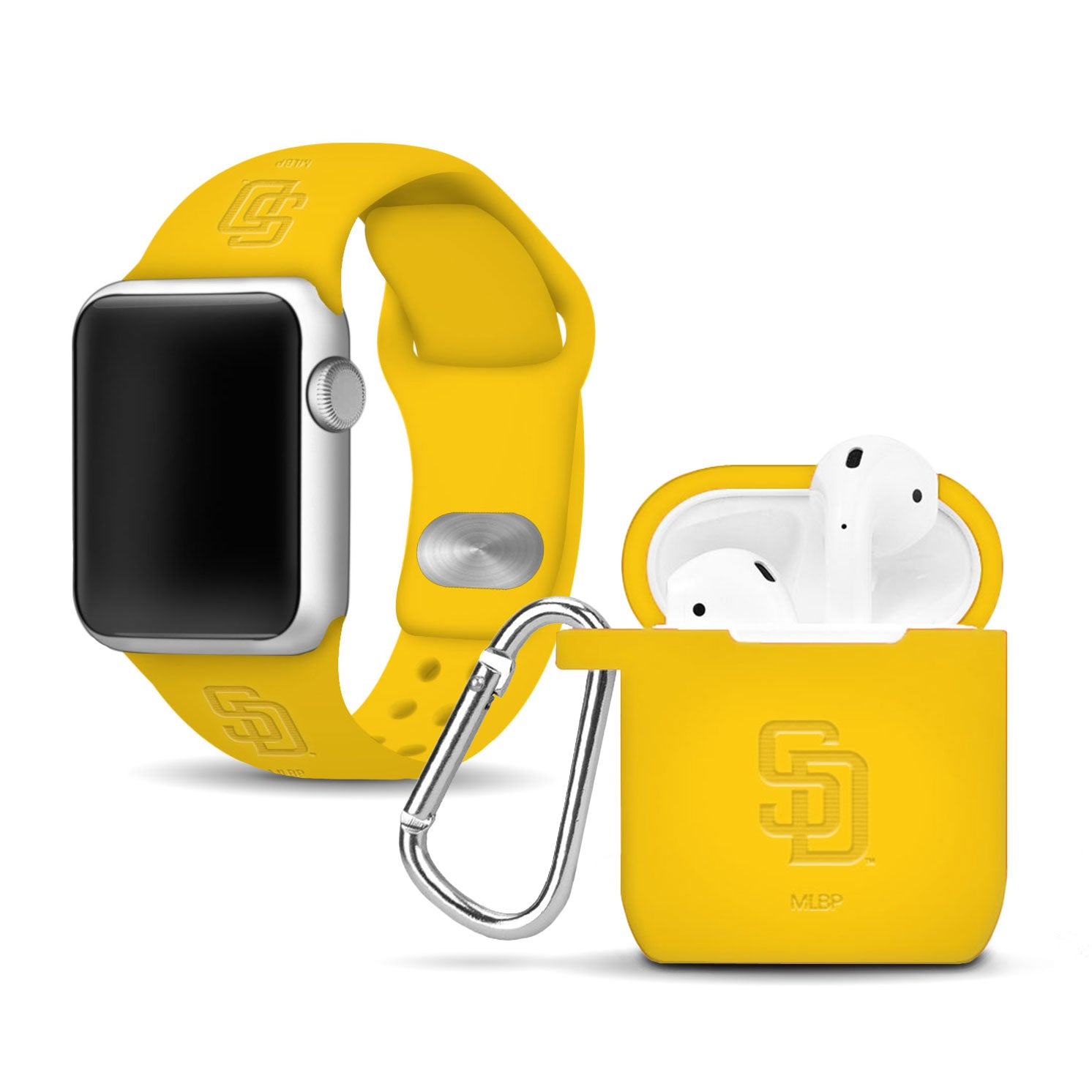San Diego Padres Debossed Apple Combo Package - AffinityBands