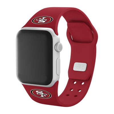 San Francisco 49ers Debossed Apple Watch Band
