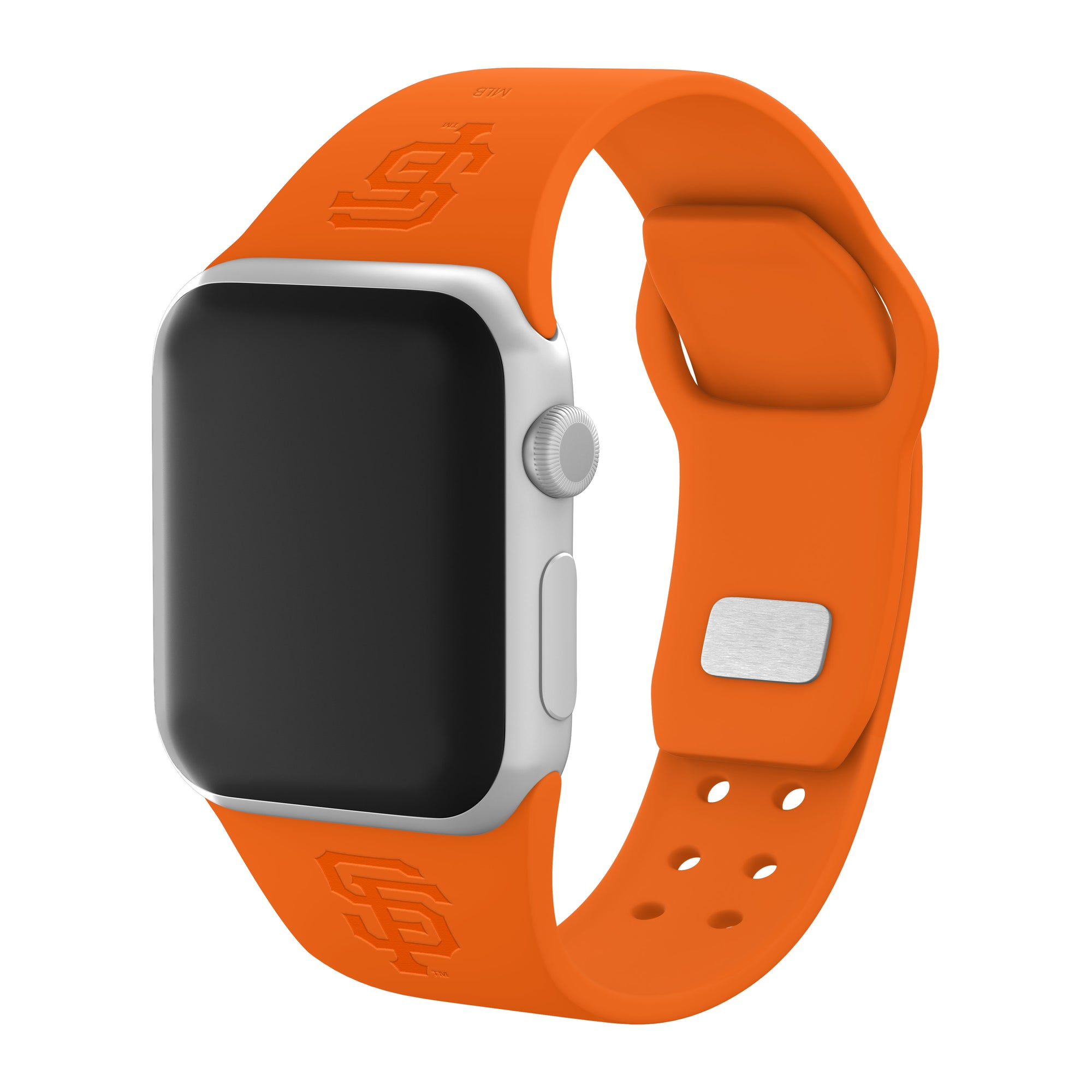 San Francisco Giants Debossed Silicone Apple Watch Band - Affinity Bands