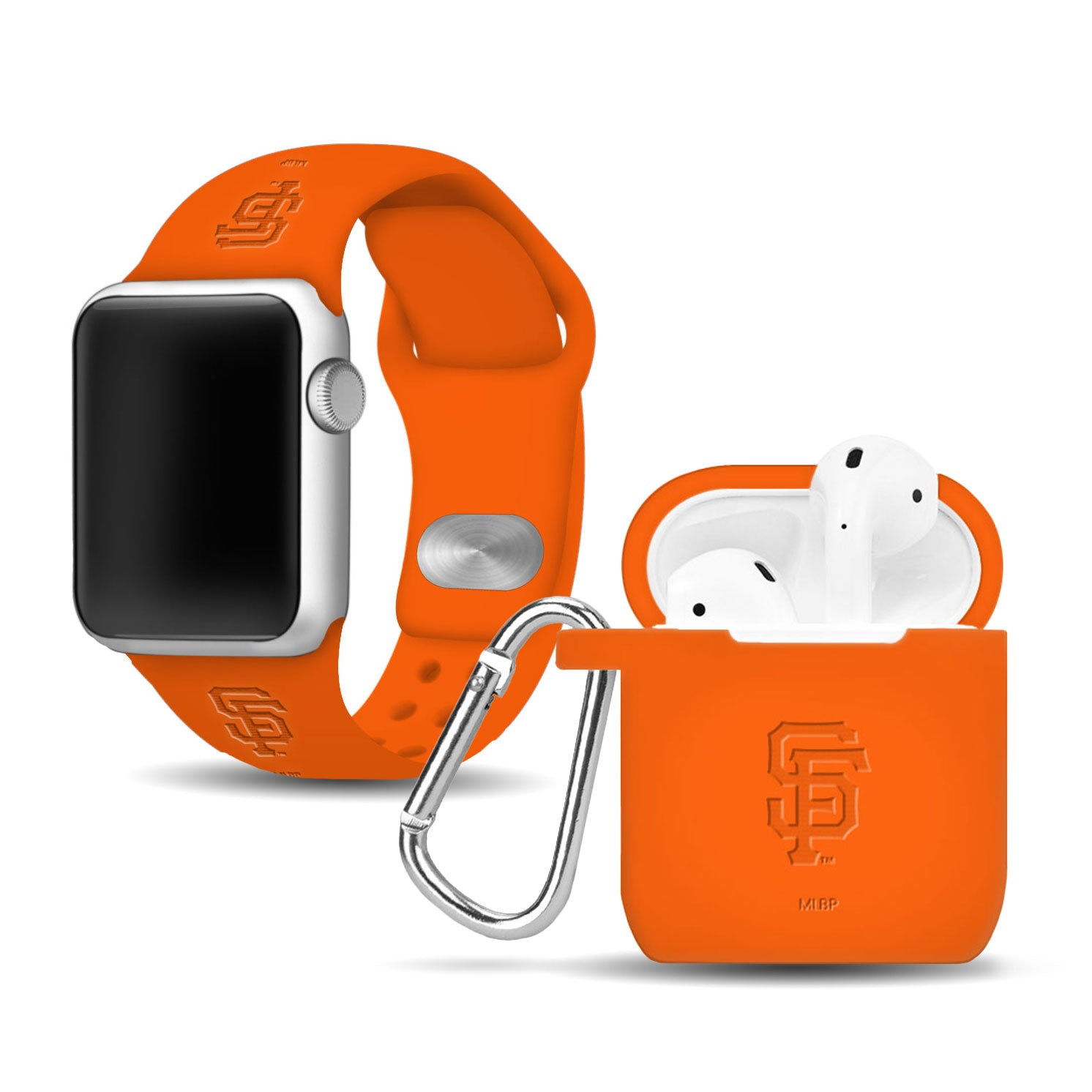 San Francisco Giants Debossed Apple Combo Package - AffinityBands