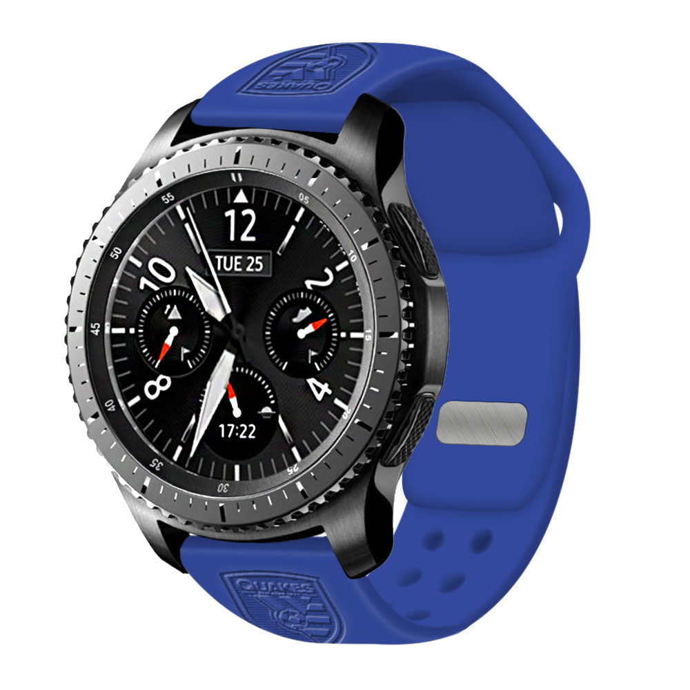 San Jose Earthquakes Quick Change Silicone Watchband