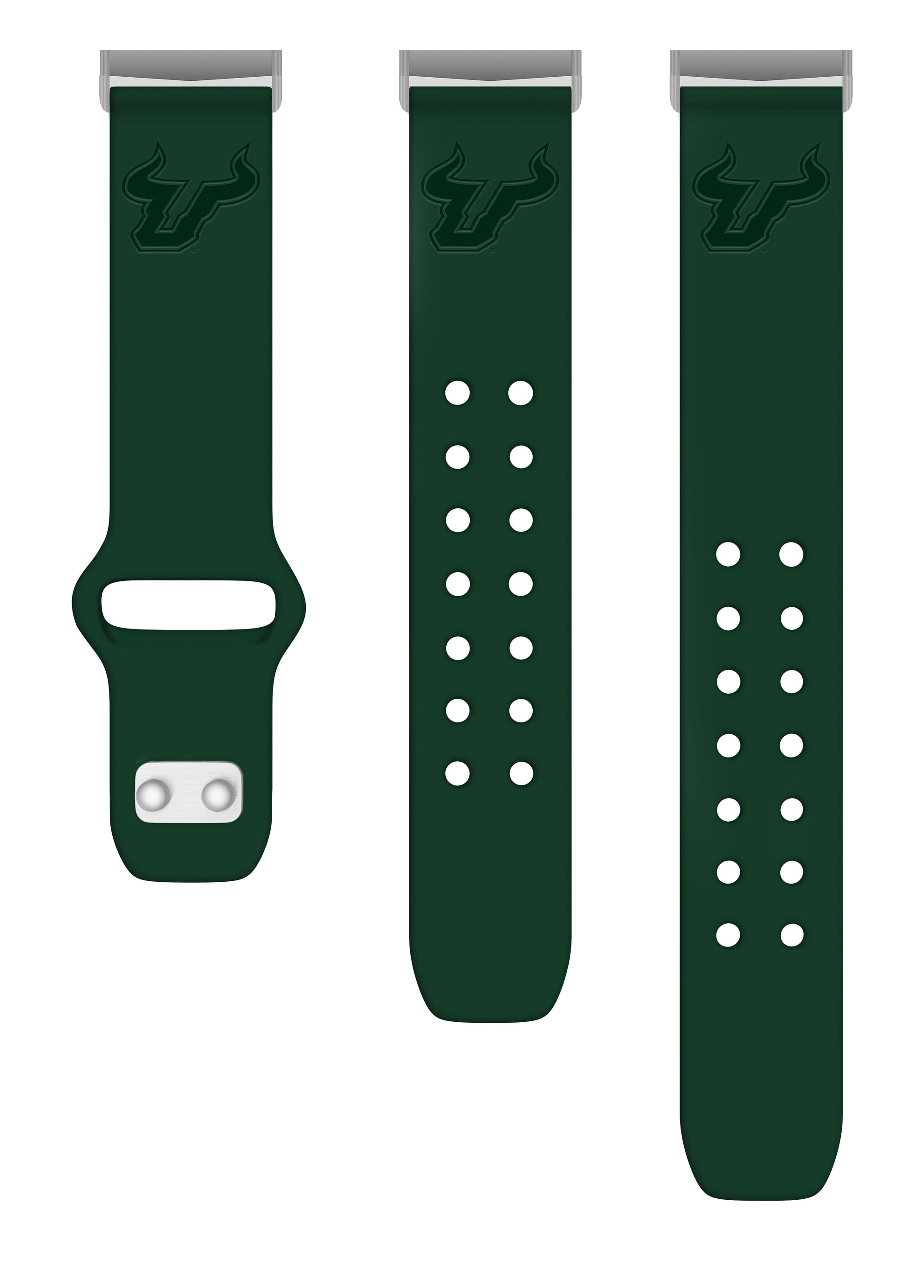 South Florida Bulls Debossed Apple Watch Band