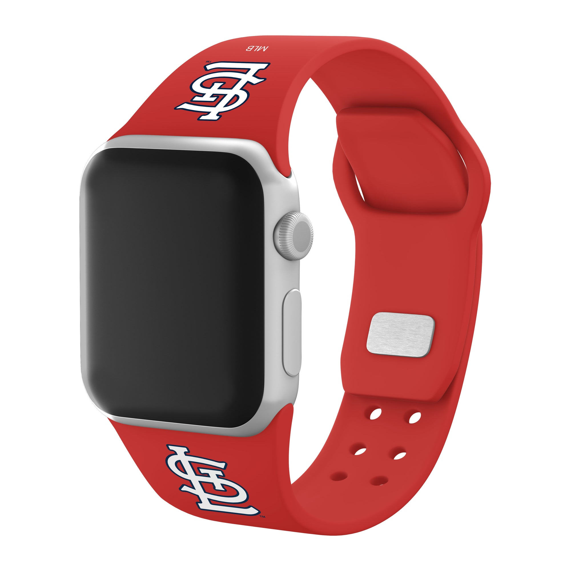 St. Louis Cardinals Silicone Apple Watch Band