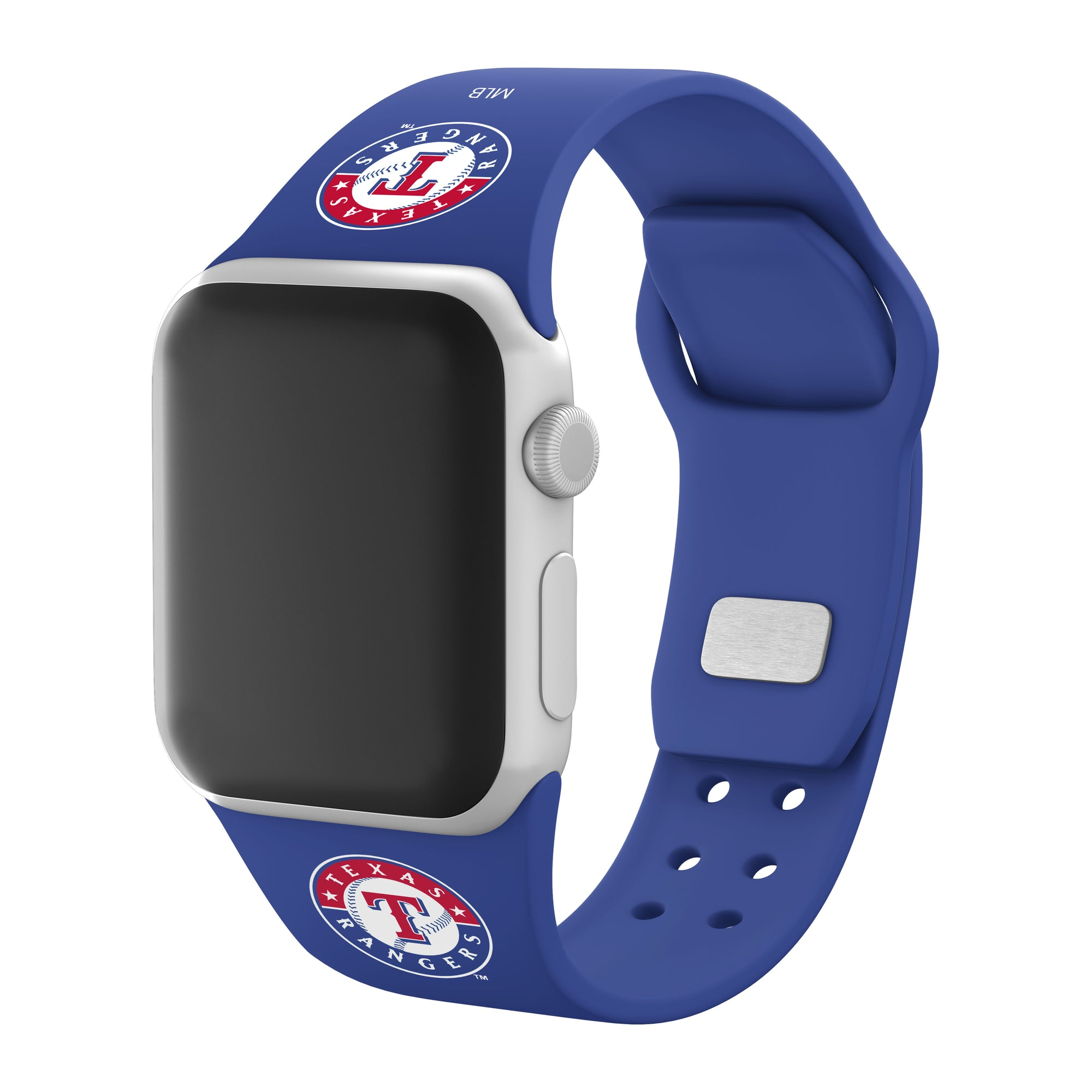Texas Rangers Silicone Apple Watchband-AffinityBands