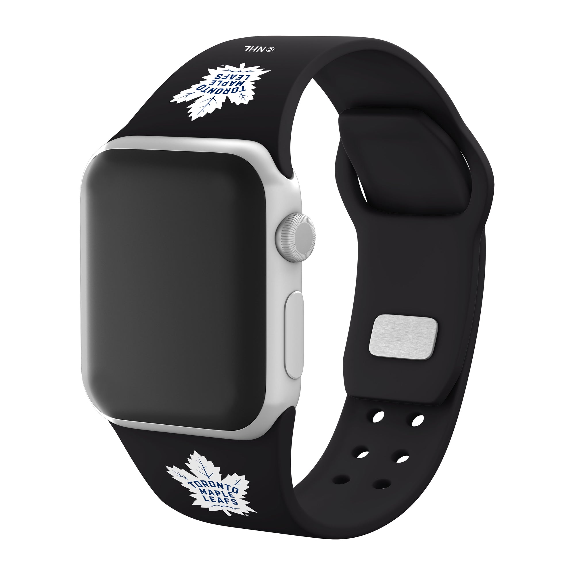 Toronto Maple Leafs Silicone Apple Watch Band - Affinity Bands