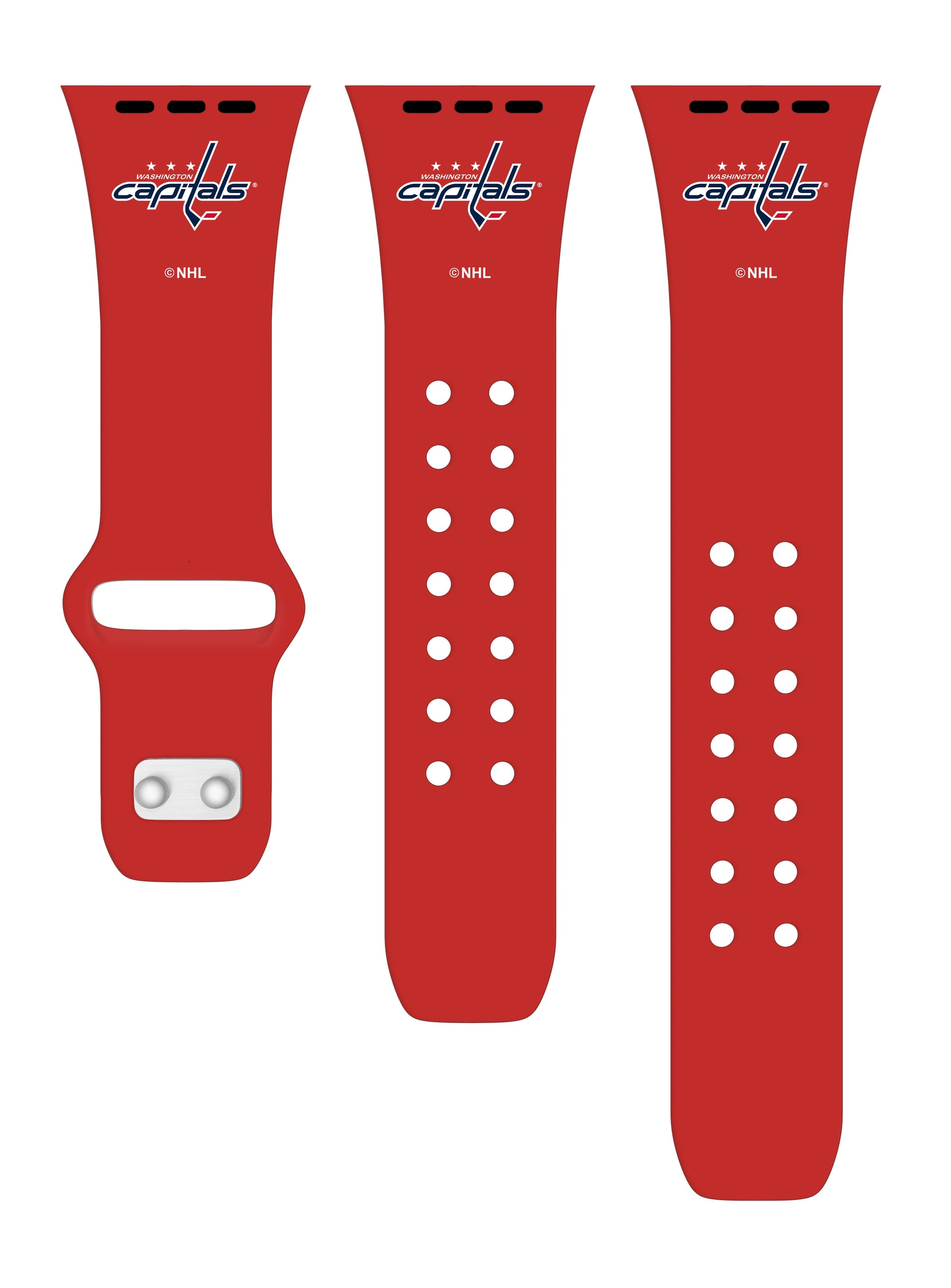 Washington Capitals Debossed Apple Watch Band-AffinityBands