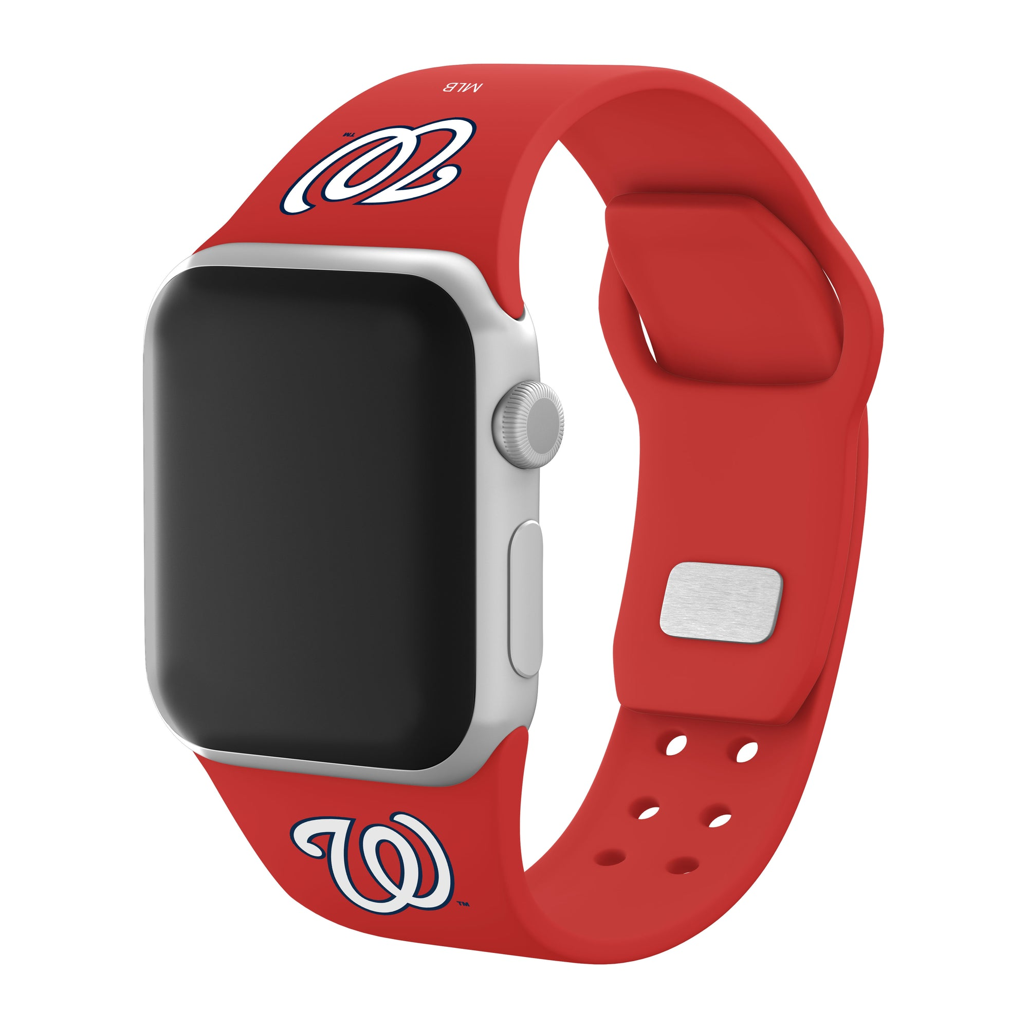 Washington Nationals Silicone Apple Watchband-AffinityBands