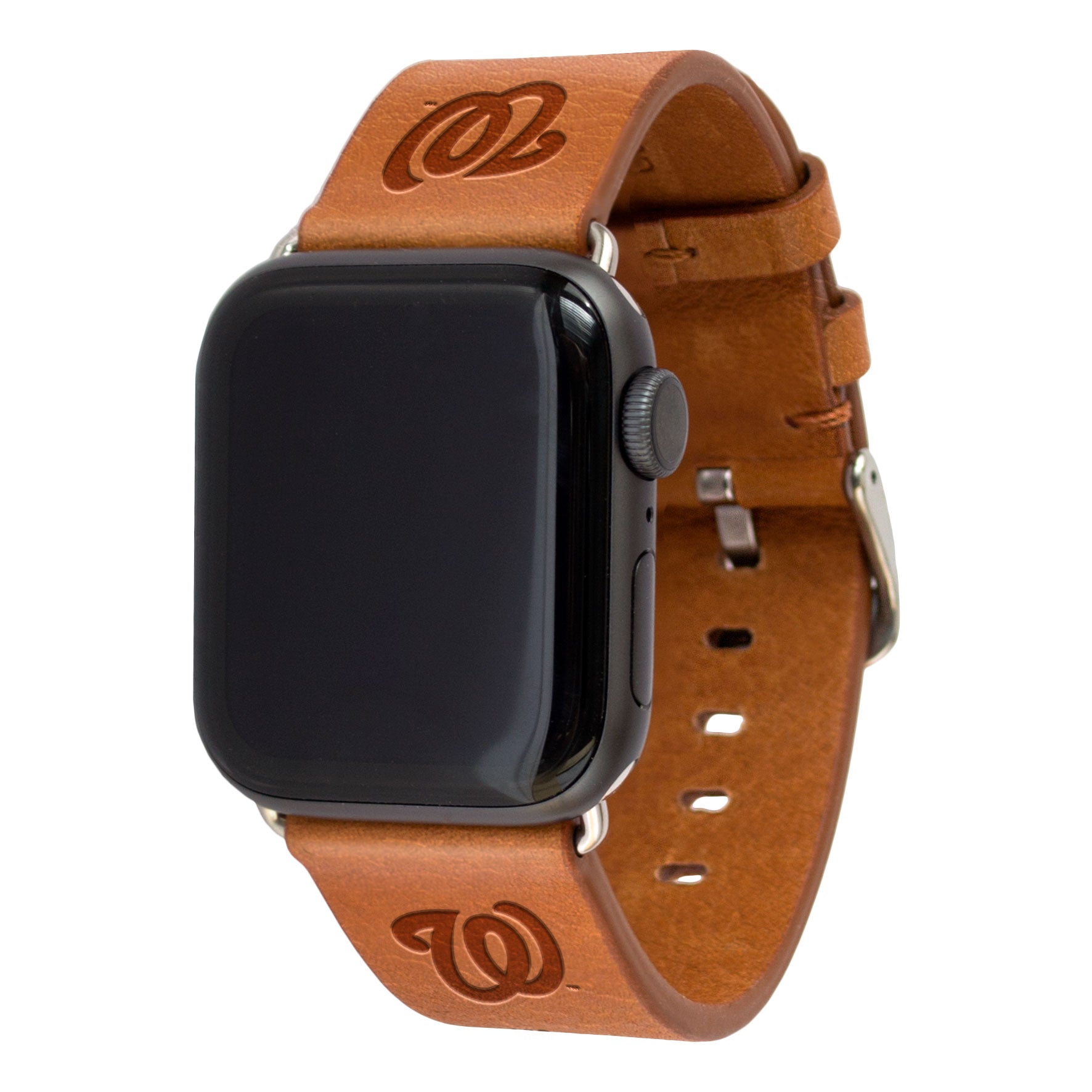Washington Nationals Leather Band Compatible With Apple Watch