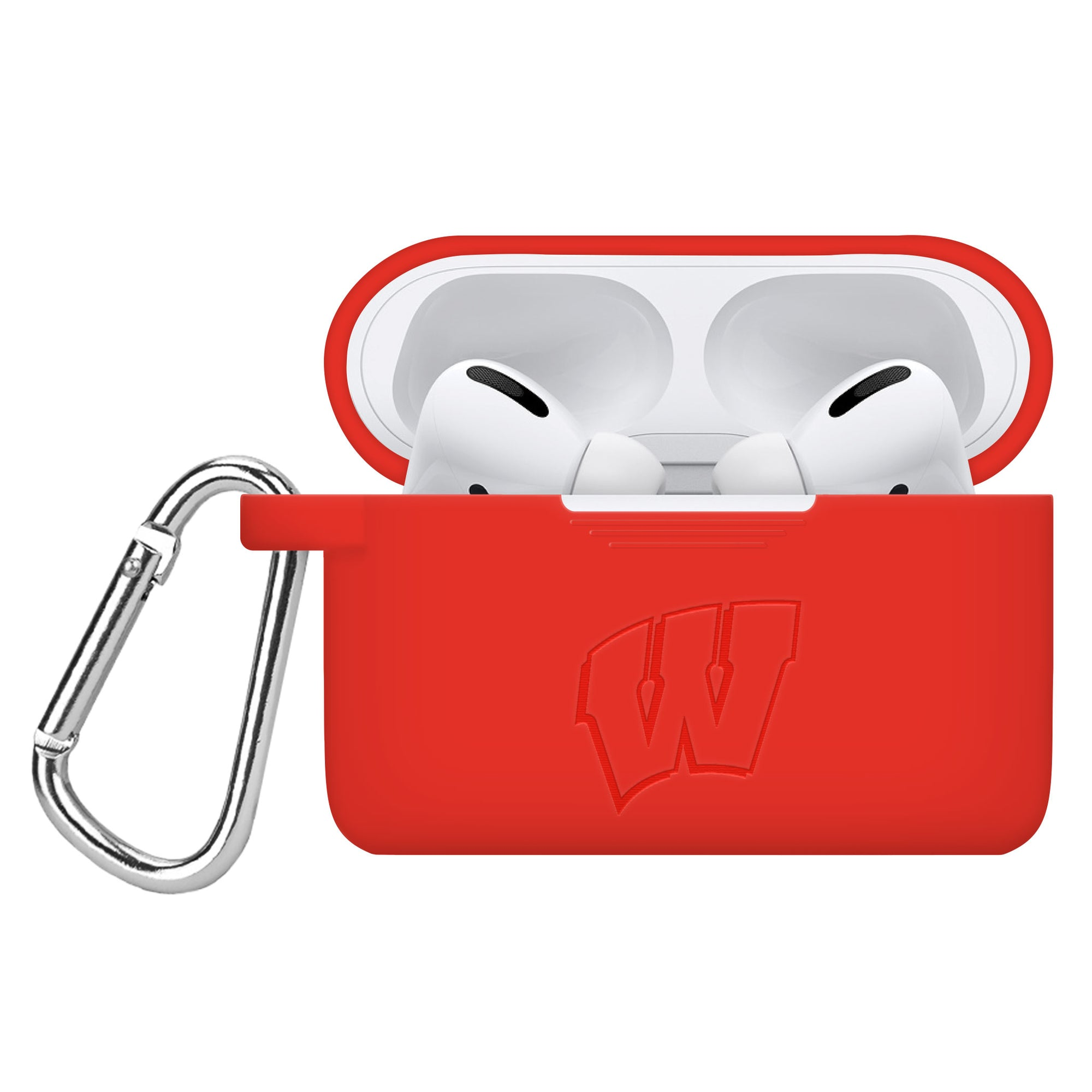 Wisconsin Badgers Debossed AirPod Pros Case Cover