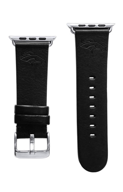 Denver Broncos Leather Apple Watch Band