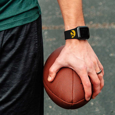 Iowa Hawkeyes Apple Watch Band-AffinityBands