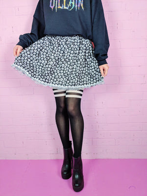 Villains Skull Skirt