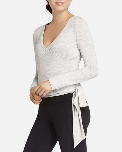 Wrap Long Sleeve Top