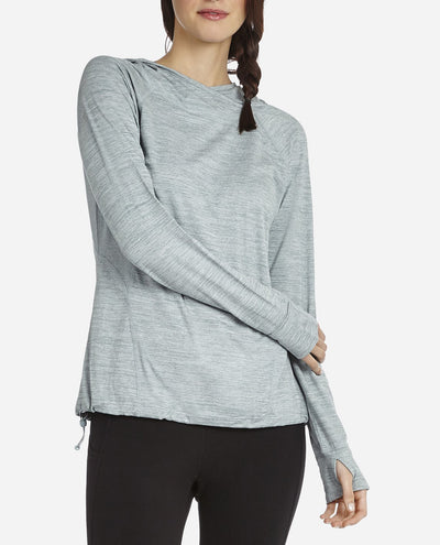 Soft Touch Mesh Hoodie