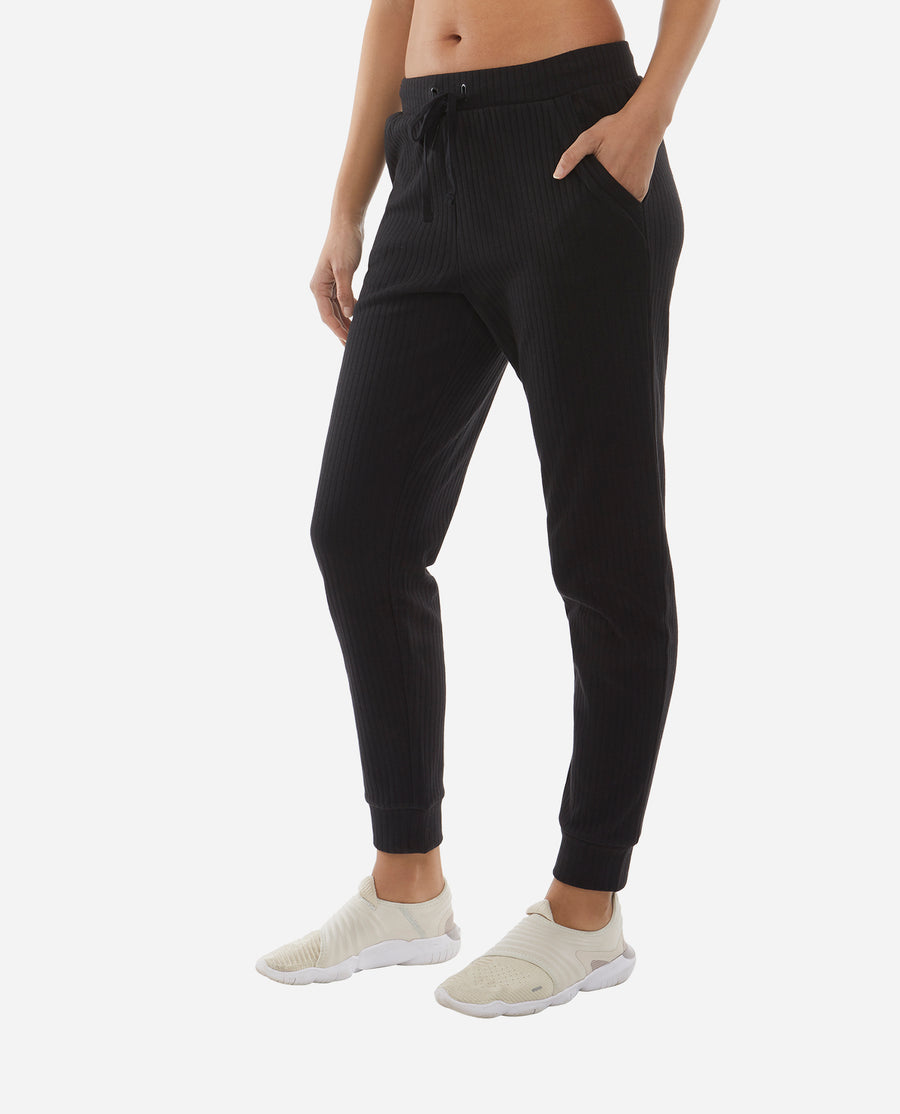 Ribbed Knit Jogger