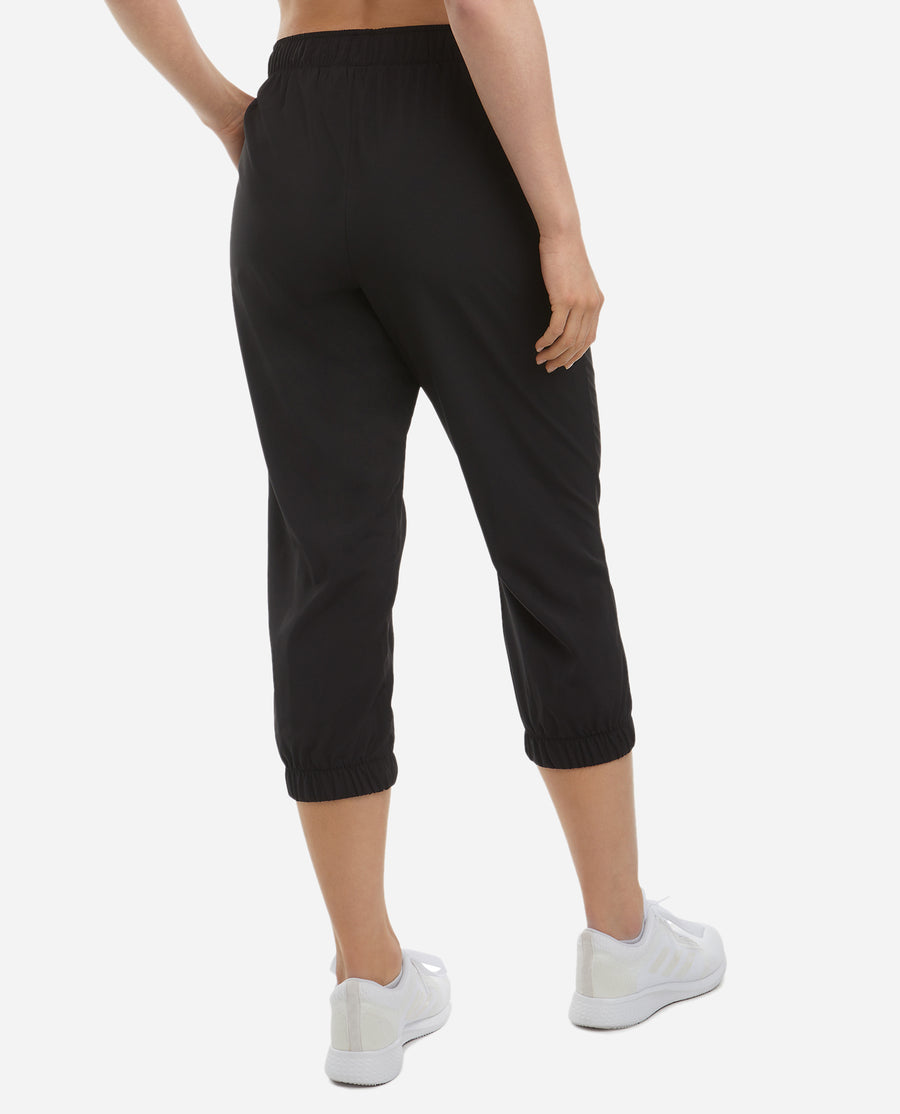 Cropped Woven Jogger