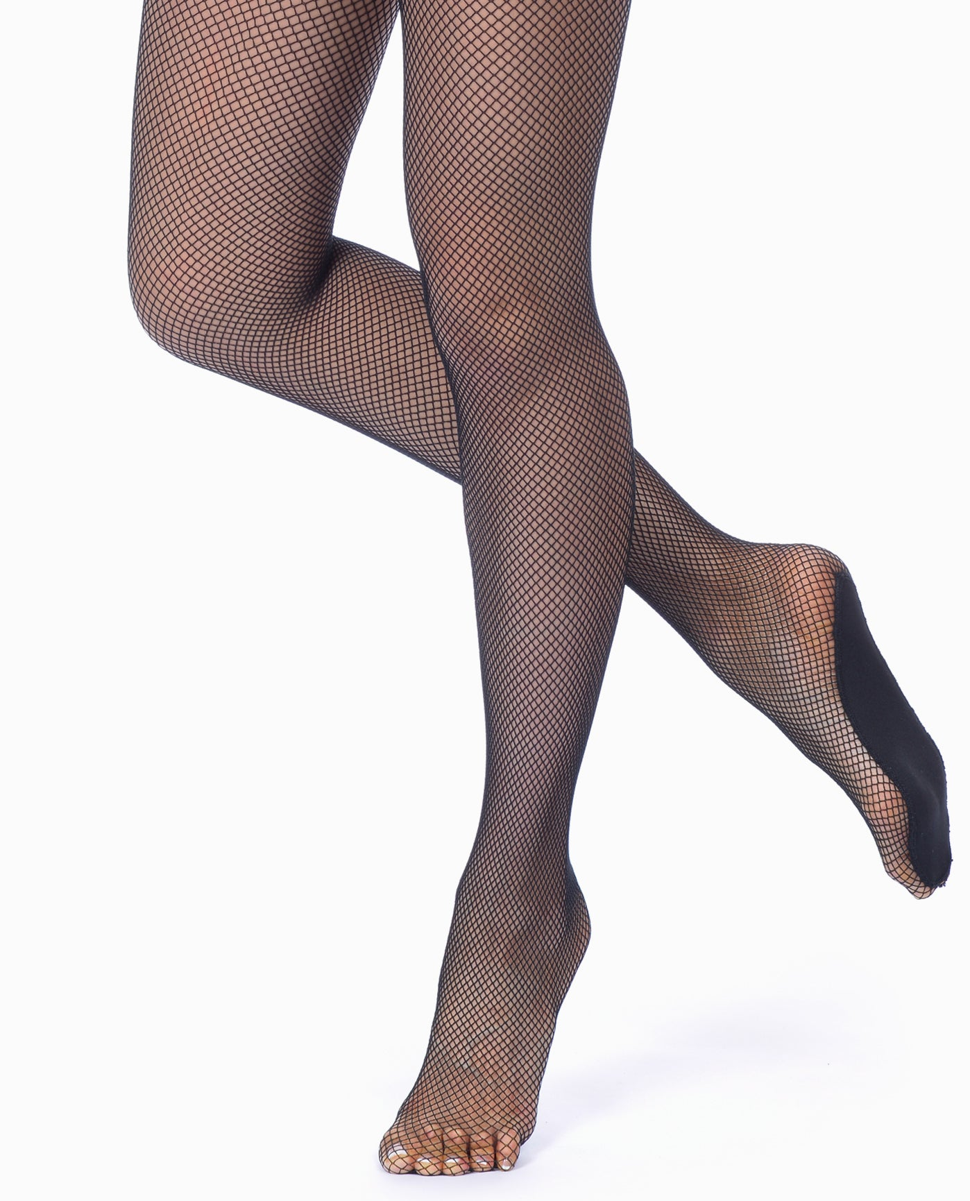 1bc6fddb096fd Women's 203 Padded Foot Fishnet Tight | Womens Tights | Danskin
