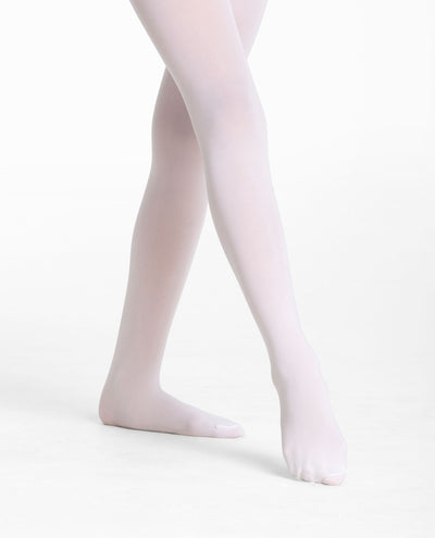 Girl's 387 Microfiber Footed Tight