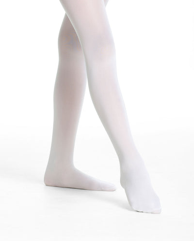 Girl's 703 Basic Footed Tight