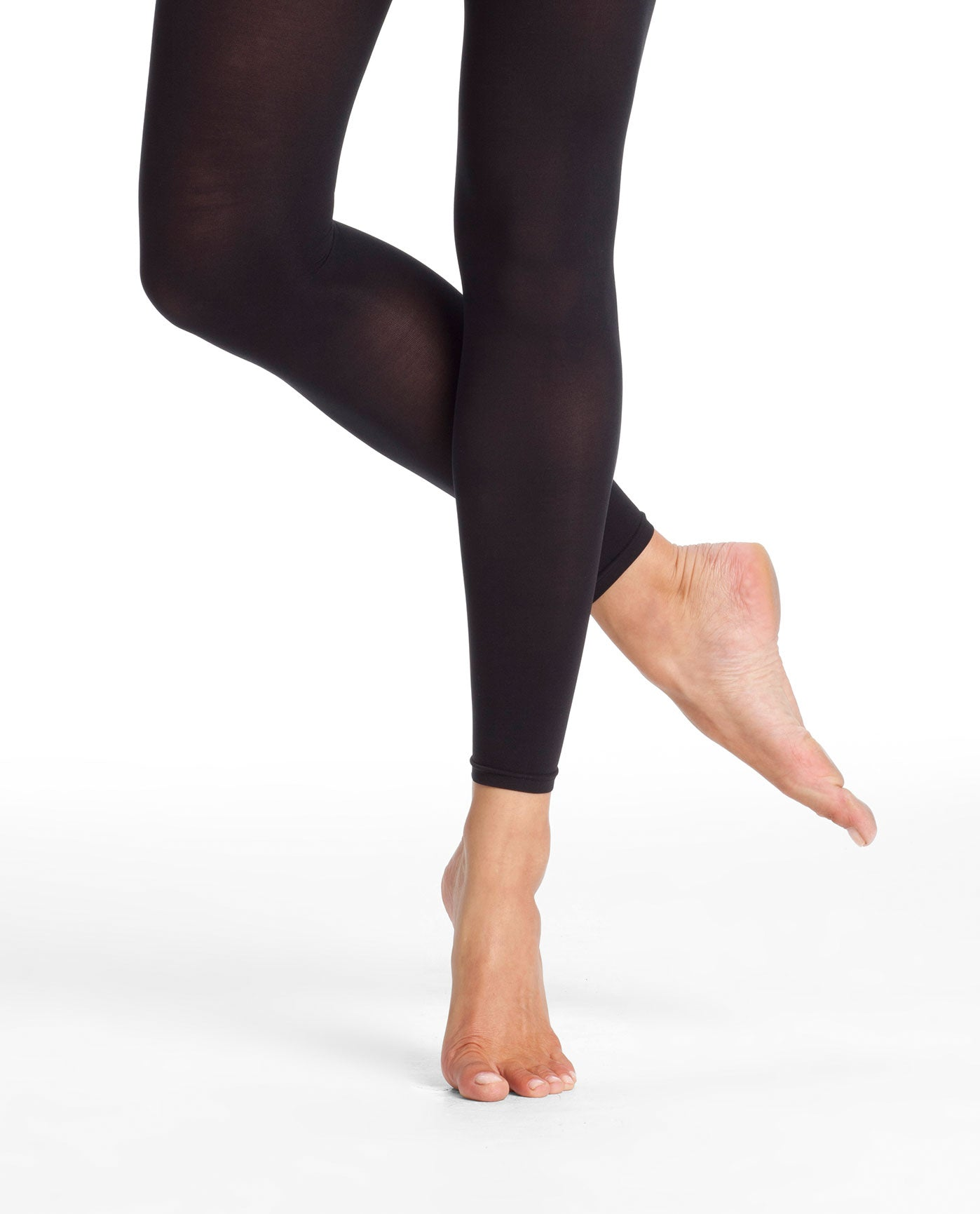 Danskin 711 Microfiber Footless Tights
