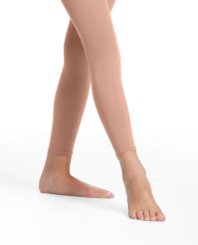 Girl's 712 Microfiber Footless Tight