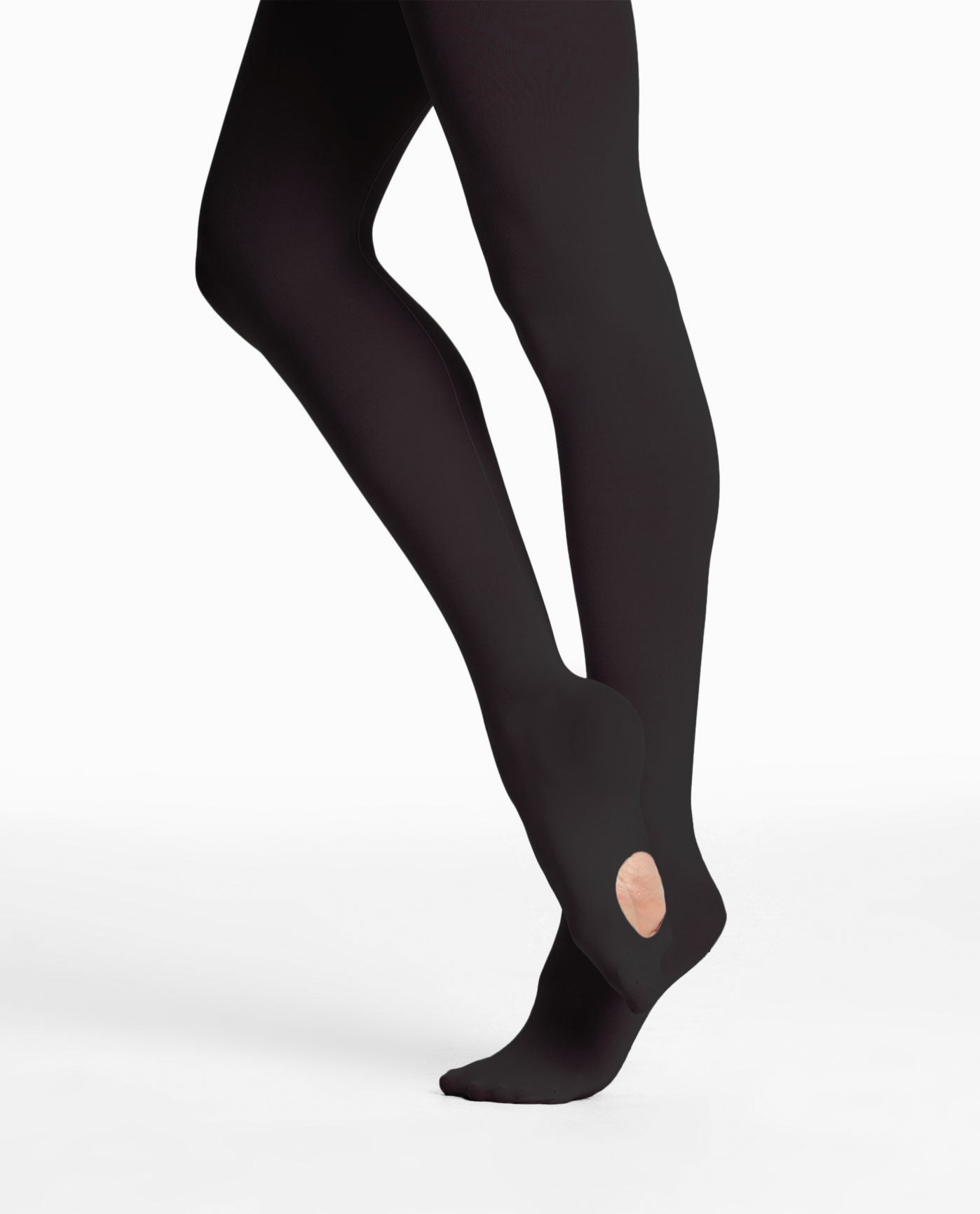 Danskin 725 Faux Backseam Convertible Tights
