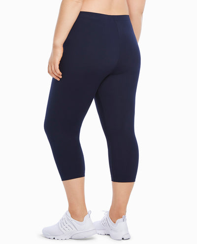 Classic Supplex Body Fit Capri Legging