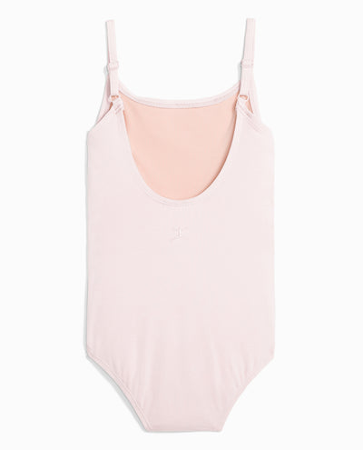 Girl's Cotton Camisole Leotard