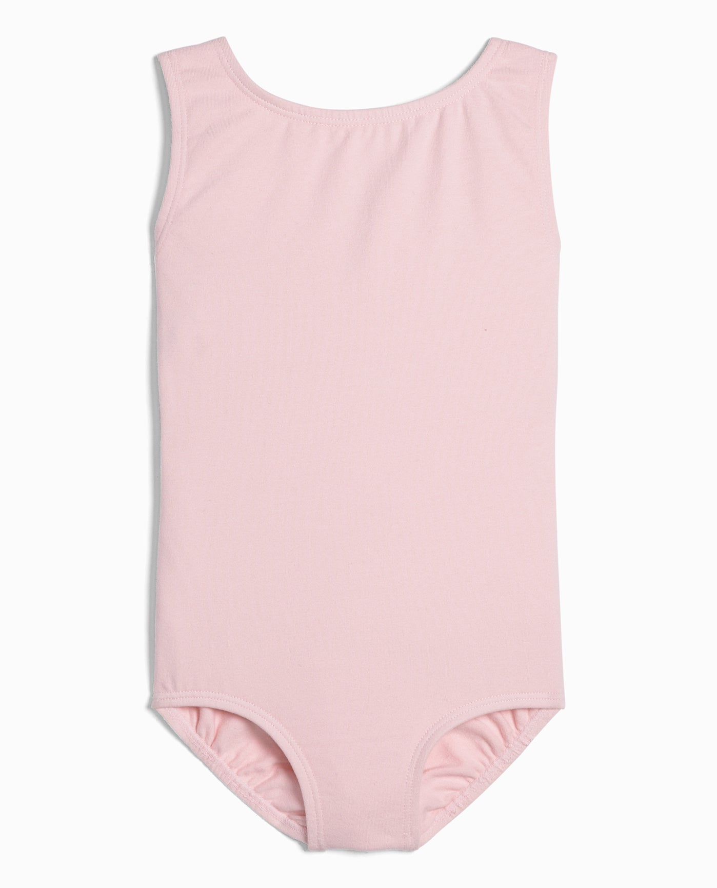 7652efd75e9d Girl s Cotton High Neck Tank Leotard