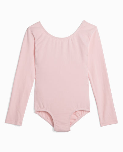 Girl's Classic Long Sleeve Leotard