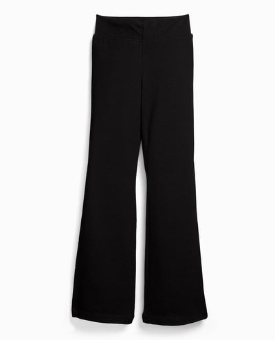 Girl's Shirred-Waist Bootcut Pant