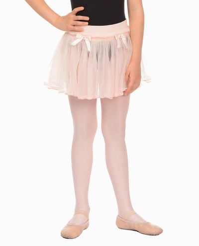 Girl's Pull-On Double Layer Tulle Tutu