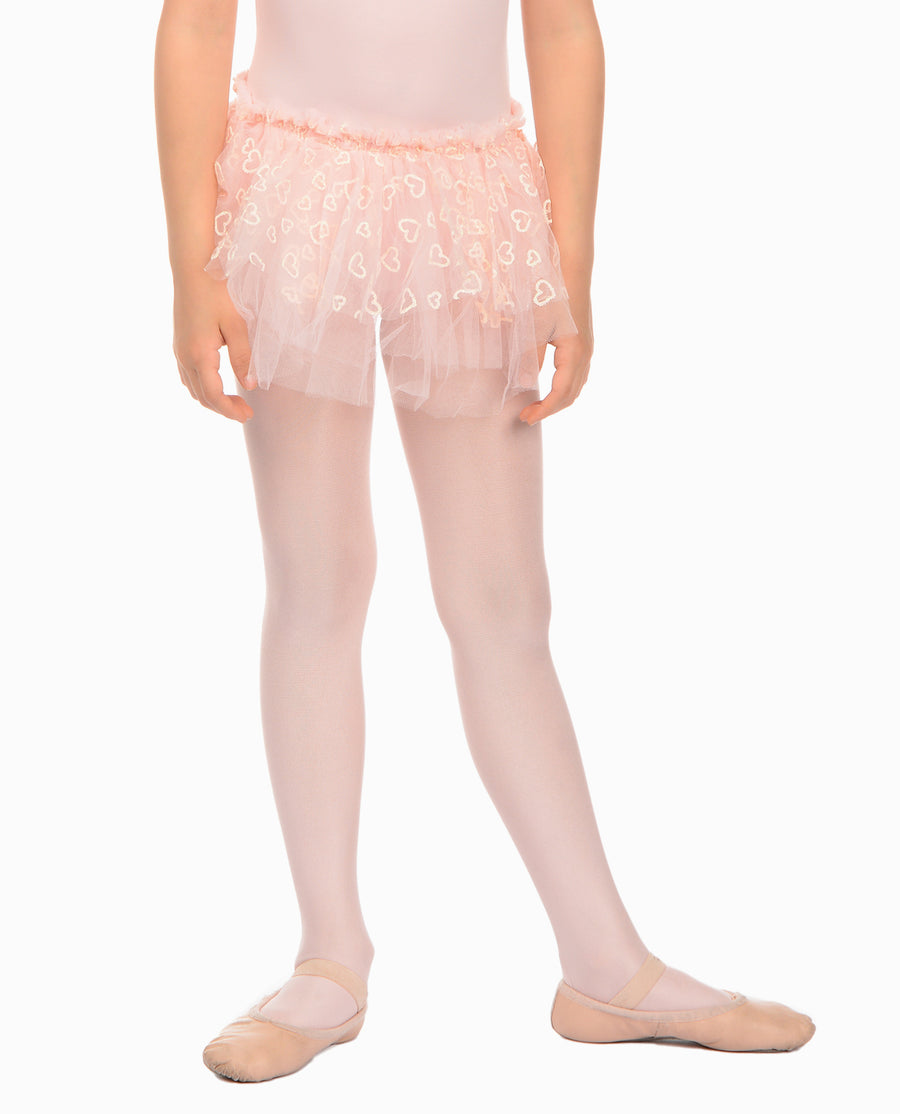 Girl's Tulle Hearts Tutu