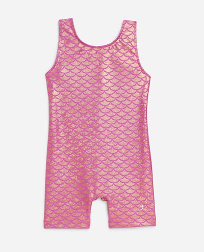 Girl's Sleeveless Gymnastics Unitard