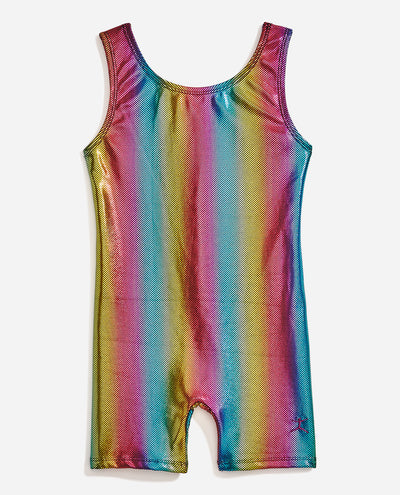 Girl's Sleeveless Gymnastics Biketard